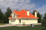 Двухэтажный дом D025