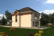 Двухэтажный дом D035