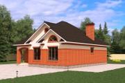 Одноэтажный дом D040