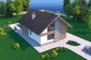 Техэтажный дом D045