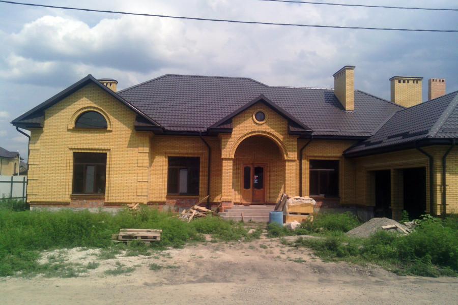 Одноэтажный дом D047