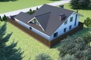 Двухэтажный дом D068