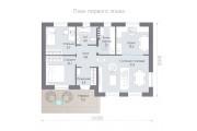 Одноэтажный дом D069.6 classic