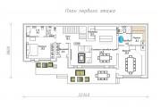Двухэтажный дом D070