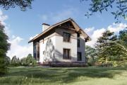 Двухэтажный дом D076
