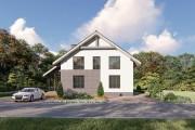 Двухэтажный дом D084