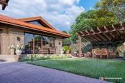 Проект дноэтажного дома