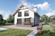 Двухэтажный дом D088