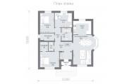 Одноэтажный дом D102