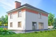 Двухэтажный дом D104