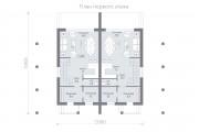 Двухэтажный дуплекс D106
