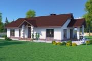 Одноэтажный дом D107