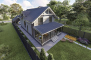 Двухэтажный дом D109