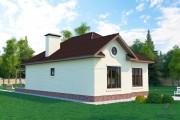 Одноэтажный дом D123