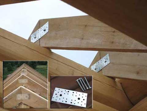 Способы крепления различных элементов из древесины